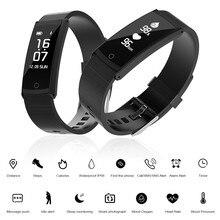 Rondaful трекер крови кислородом Приборы для измерения артериального давления Мониторы Smart Band IP68 Водонепроницаемый плавательный Bluetooth 4.0 Smart Браслеты