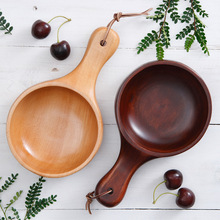 Japan Direct Selling New 1 Marmita Soup Bowl Bol Meifu Furniture Beech Salad Bowls Natural Old Lacquer Ramen Wooden Tableware