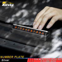 ANTEKE auto number plate accessories for Mercedes benz A B C E S class GLA CLA G500 GLE GLC ML GLK G