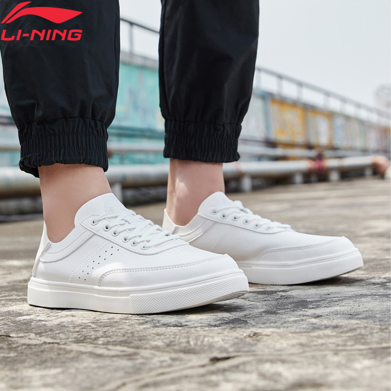 Li-Ning Men REMODEL Lifestyle Shoes Classic Leisure Sneakers Foldable Heel Slip-on LiNing Li Ning Sport Shoes AGCP027 YXB293