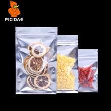 Полупрозрачная восстанавливаемая упаковка с защитой от запаха, майларовая сумка, алюминиевая фольга, замок на молнии, пищевая медицинская витрина, термопечать, ламинирующая посылка