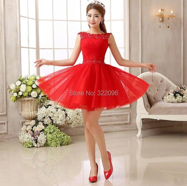 30c3408ecc Shanghai historia moda rojo Encaje corto moda sexy vestido para la boda  para el Partido Club