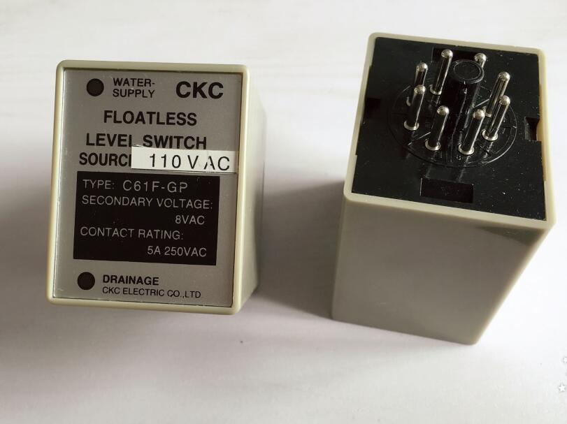 все цены на  Water level controller C61F-GP level relay 1NO 1NC 8PIN 5A 250VAC 50/60Hz  онлайн