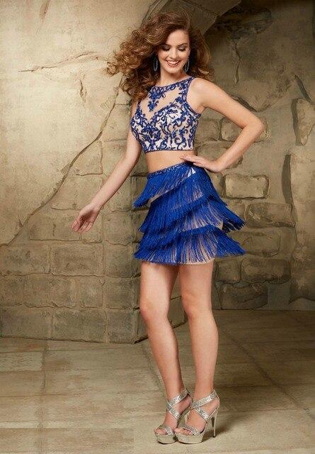 dos partido elegante baile corto piezas del a elegante de unidades de Vestidos del vestido 2 XwqUaO0X