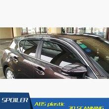 Для CT200H lexus Пластик окна козырек вентиляционные шторы солнце дождь дефлектор гвардии для CT200H lexus авто аксессуары 4 шт./компл. 2011