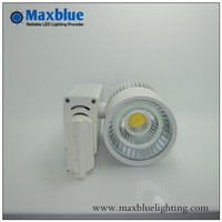 DHL EMS Free Shipping 12pcs Lot 20W CREE COB LED Track Light With Meanwell Driver