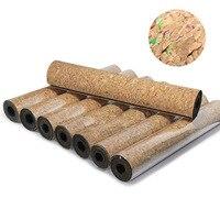 6MM Non slip Colorful Cork TPE Brand Yoga Mat Antibacterial Bath Carpet Breathable Gymnastics Mats Sport Mats Yoga Pads,HB076