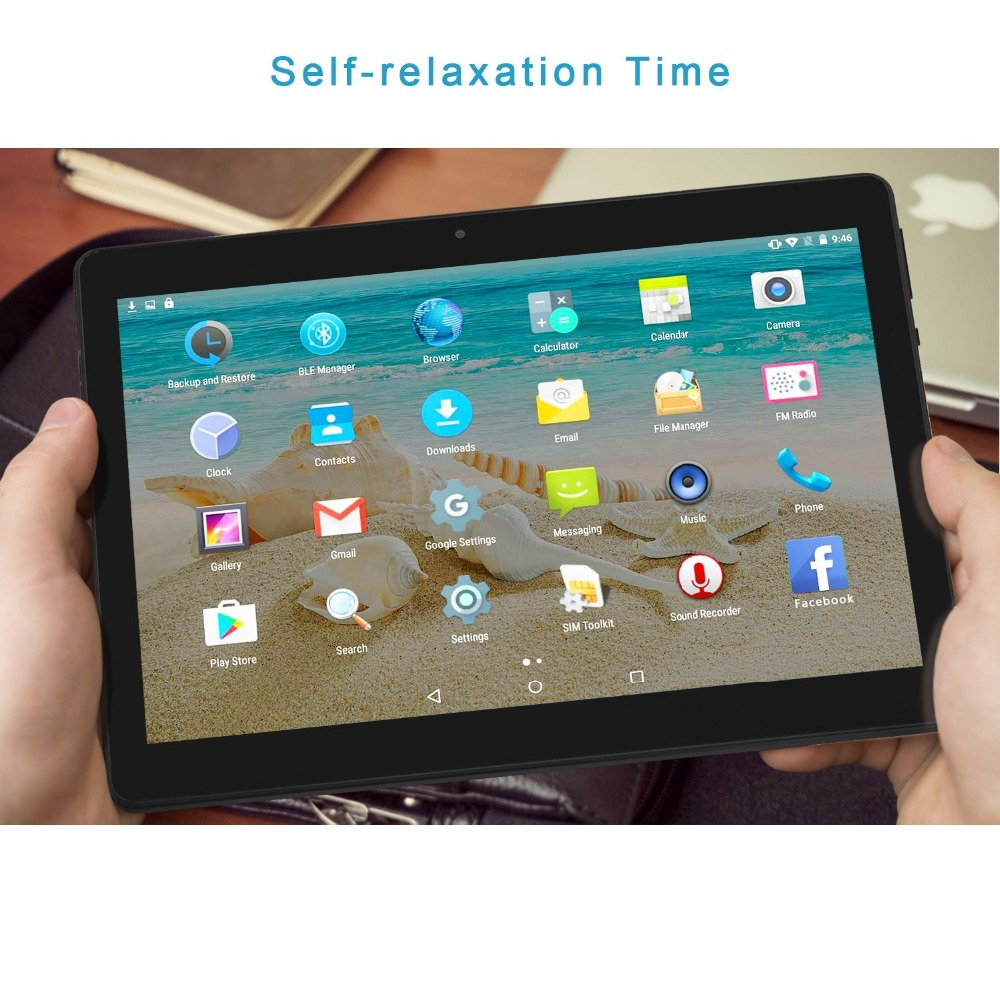 2018 NEW music 10.1 inch Tablet Octa core 2 GB/16 GB WIFI Bluetooth multi-language/function tablets phone call game
