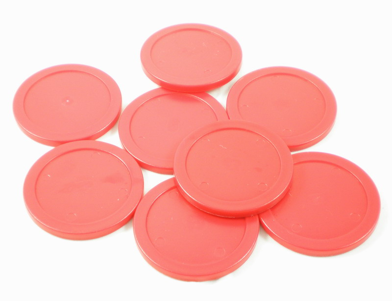 Free Shipping 10pcs/lot Red Air Hockey Table Pusher Puck 75mm 2.95