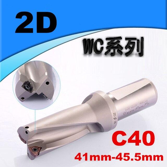Φ25-3D-C25 25mm-3D U drill indexable drill For WCMX050308 CNC U drill insert