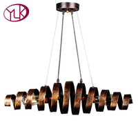 Loft Retro Vintage Pendant Lights Industrial Wrought Iron Pendant Lamps Bar Cafe Restaurant Suspension Luminaire Home