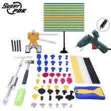Супер НДР (Paintless Удаления Вмятины) инструменты Магазин-Новый PDR Tools Kit Линии Борту Автомобиля Клей Пистолет для Продажи-Авто Body Shop