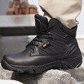 Америка Спорт Армия мужские Тактические Ботинки Пустыни Открытый Походы Энтузиастов кожаные Сапоги Военные Морские Мужчины Боевые Обувь