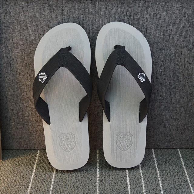 WGZNYN 2018 Summer Men Sandals Brand Flip Flops Good Quality Man Beach Slippers Shoes Flat Sandals Hombre Sandalias  0100