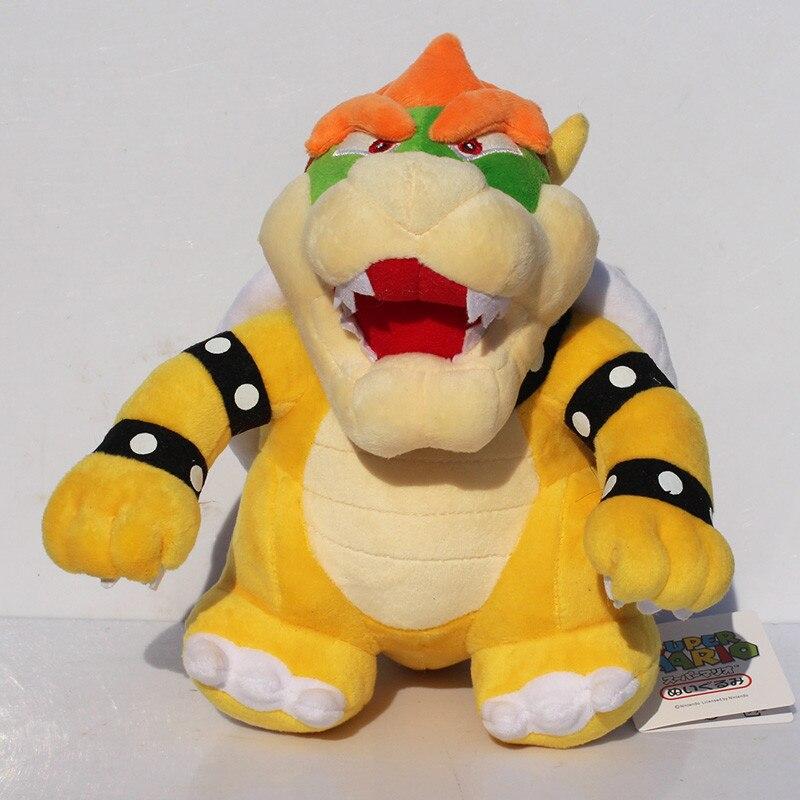 """EMS 20 pièces 10 """"25 cm Super Mario debout Bowser Koopa peluche poupées jouets livraison gratuite-in Films & TV from Jeux et loisirs    3"""