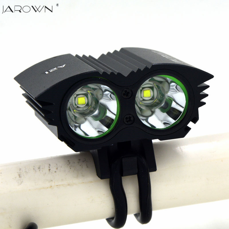 JAROWN Bicycle light Bike Light 5000 Lumen XML U2 LED Bicycle Light Bike Light Lamp + 6400mah Battery Pack + Charger waterproof 5000 lumen 2x xml u2 led cycling bicycle bike light lamp headlight headlamp 6400mah battery pack charger