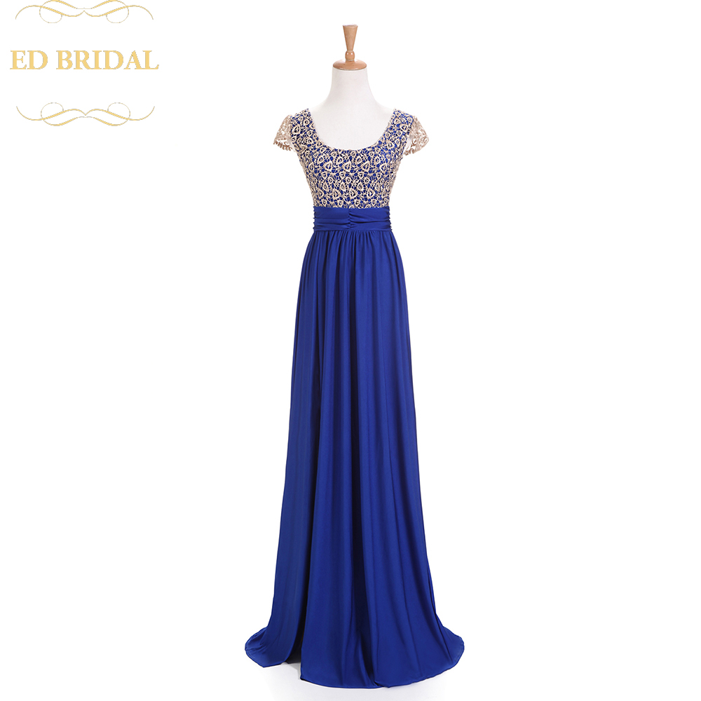 Short Sleeves Lace Stretchy Jersey High Slit Sexy Backless Evening Dress Long Open Back Prom Party Dress Evening Gown