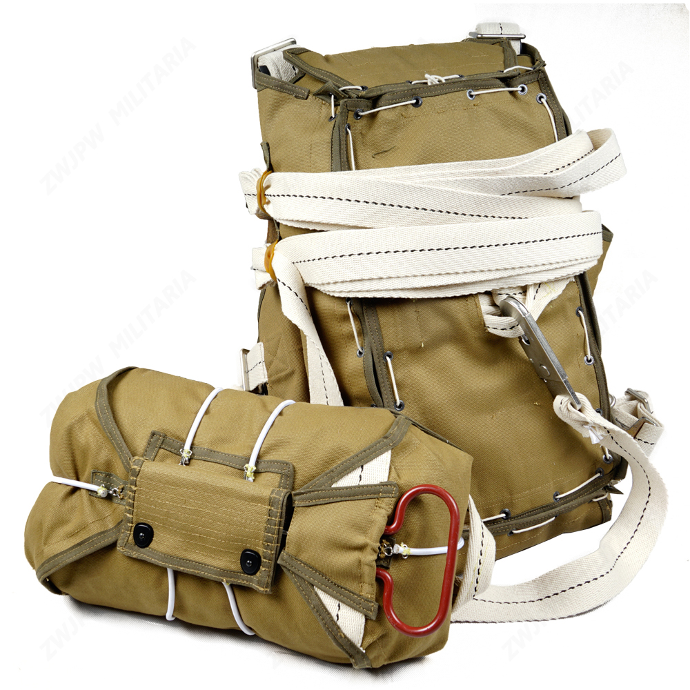 WWII  American Paratrooper T-5 Parachute Backpack System Without Parachute Film Props