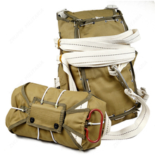 WWII  American paratrooper T 5 parachute backpack system without parachute film props
