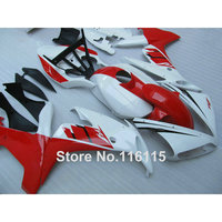 ABS motorcycle fairings set for YAMAHA YZF R1 2004 2005 2006 red white black fairing kit R1 04 05 06 CY6 Full injection