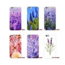 For Samsung Galaxy A3 A5 A7 J1 J2 J3 J5 J7 2015 2016 2017 Accessories Phone Shell Covers Simple lavender Purple flowersc