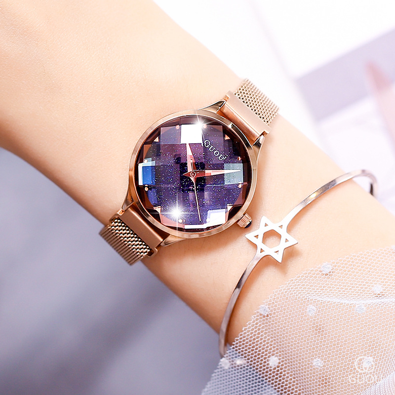 Fashion Ancient European Magnet Ladies Watch Aesthetic Romantic Beauty Jelly Mirror Watch Female Watch g66620Fashion Ancient European Magnet Ladies Watch Aesthetic Romantic Beauty Jelly Mirror Watch Female Watch g66620