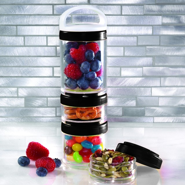 Online Shop Portable Stackable Protein Powder Container Nutritional