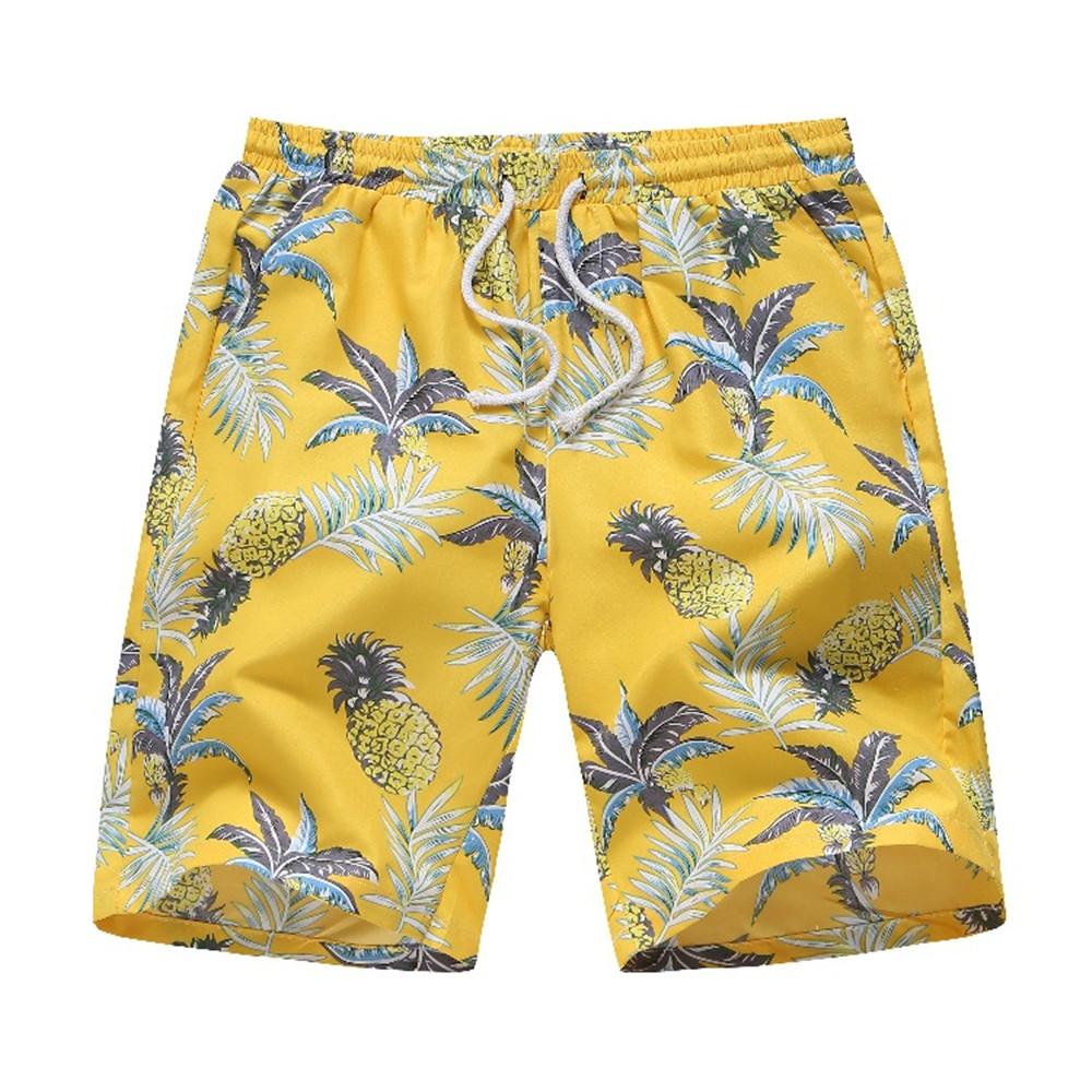 Funny Pineapple Print Set Suit Men Fitness Casual Streetwear Hip Hop Summer Swimwear Mens Tracksuit Set Board Beach Shirt Shorts in Men 39 s Sets from Men 39 s Clothing
