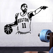Basketball player Kyrie Irving vinyl wall sticker room decoration child boy decal wallpaper Boston Celtics 3YD21