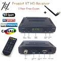 Freesat V7 HD Спутниковые ТВ-Приемником DVB-S2 1080 P Поддержка USB Wi-Fi Set Top Box + 1 Год cccam клайн Европа Cccam Сервера