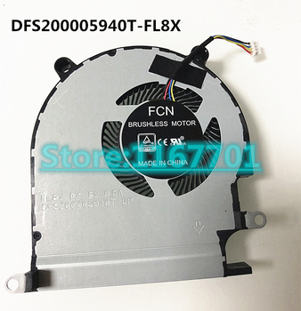 New Original Laptop/Notebook CPU Cooling Fan For Dell 0C96VF C96VF FCN BRUSHLESS MOTOR DC5V 0.5A DFS200005940T-FL8X DC28000NZF0