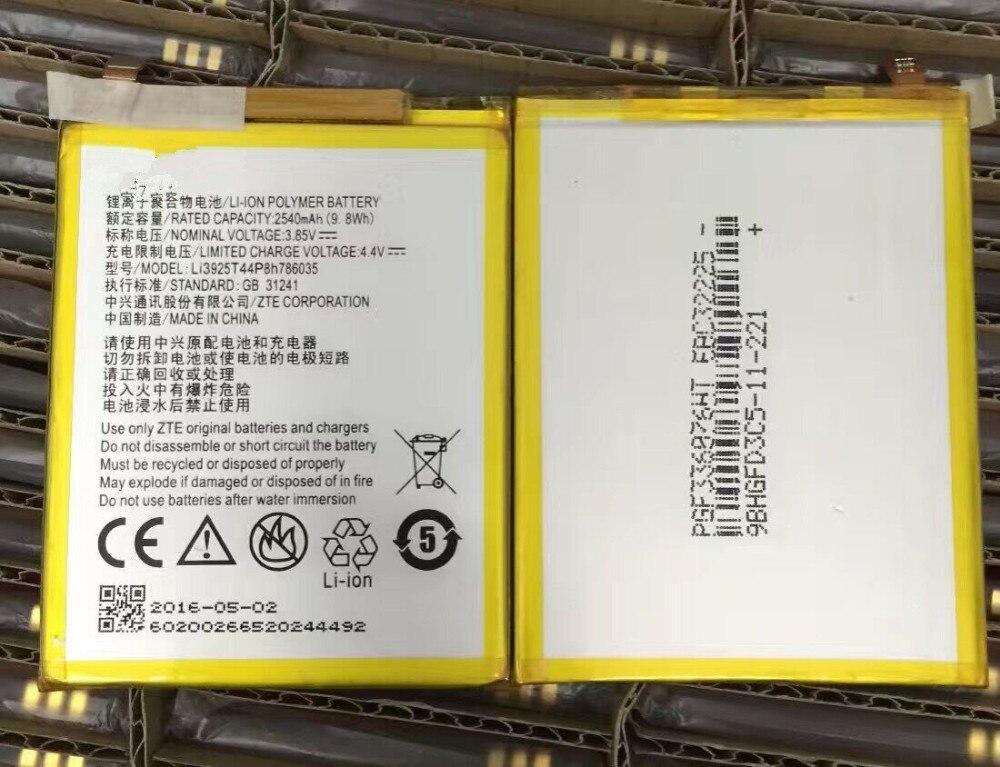 Batería de repuesto Li3925T44P8h786035 para zte Blade V7 A910/5,5 inch/A910T BA910 A512 Xiaoxian 4 BV0701 batería