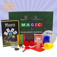 Hot Selling Magic Gift Toys Gift Novelty Toys Set Gift Box Close Up Stage Magic 33