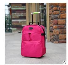 Brand Women Travel Luggage Trolley Bags On wheels For Cabin Men Business Trolley bags Rolling luggage Bags Unisex Travel Bags