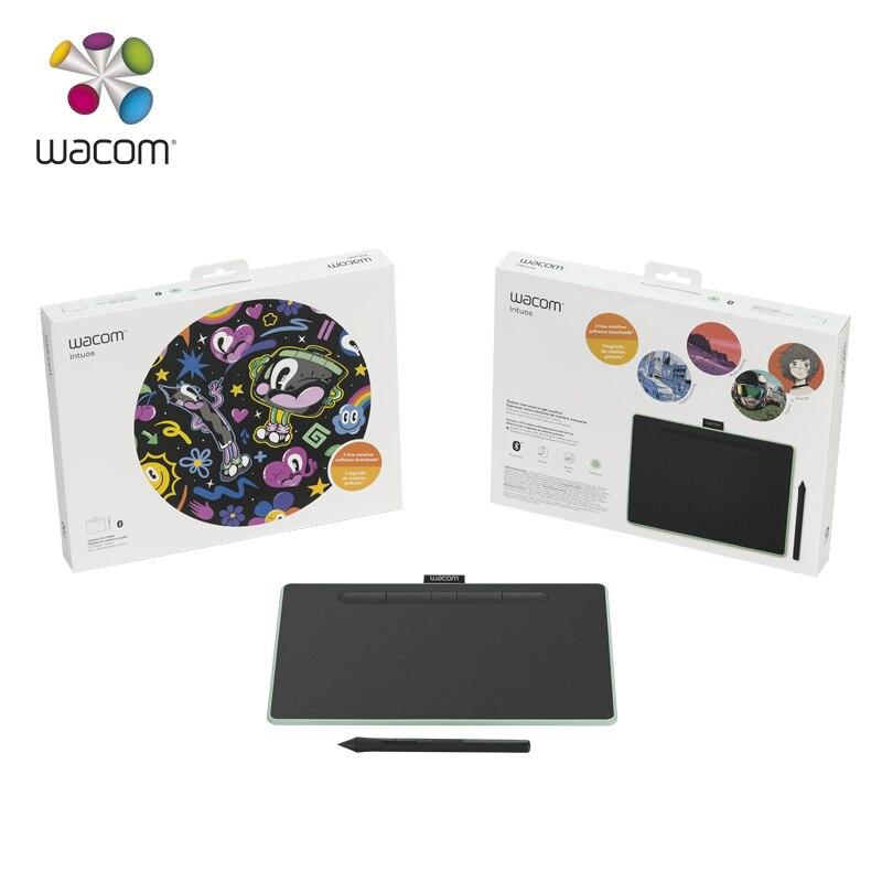 Tablette de dessin Wacom Intuos CTL-6100 tablette graphique numérique 4096 niveaux de pression taille moyenne avec logiciel Bonus - 3