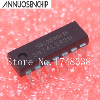 10PCS SN74LS93N 74LS93 IC 4 BIT BINARY COUNTER 14 DIP NEW