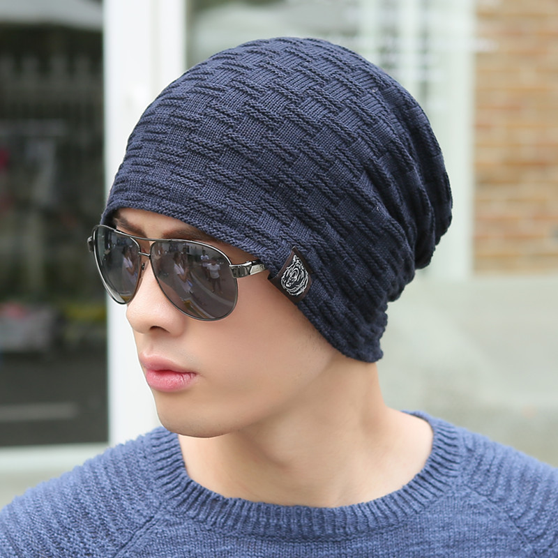 62f66321b35 VORON 2017 Autumn And Winter Bonnet Hats For Men and Women Beanie Stocking Hat  Casual Keep Warm Knitted Hat Skullies Beanies-in Skullies   Beanies from ...