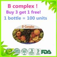 HOT DEAL 100 Units Vitamin B Complex High Strength All 9 B Vitamins Biotin B12 B