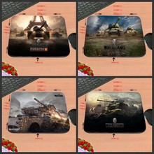 New Arrival Excessive High quality Cool Luxurious Printing Customized Tank Of World Rectangle Gaming Non-Slip Rubber Mouse Pad As Present