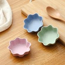 Onme тарелка для соевого соуса многофункциональная форма цветка маленькие тарелки для приправ тарелка для закусок для уксуса салат соевый соус васаби