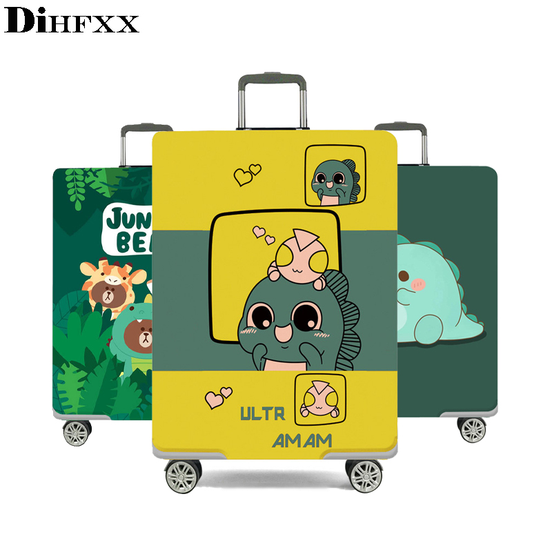 Housse de bagage épaisse élastique DIHFXX pour étui de coffre appliquer à valise 18 ''-32'', housse de protection pour valise accessoire de voyage