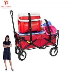 150L Katlanabilir Katlanır Açık Yardımcı Vagon market arabası Bahçeler için, Parklar, Kamp, Açık Hava Etkinlikleri, Hareketli Şeyler