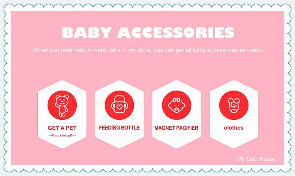 reborn doll baby accessories