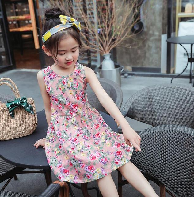 bad872e41912 קנו בנות ' בגדים | For 6 8 10 12 14 Years Girls summer clothes beach ...