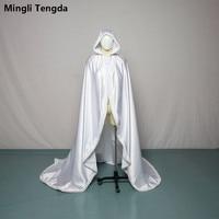 Mingli Tengda белая меховая шаль, сохраняющая тепло, накидка, платье с шапкой, свадебная куртка, свадебное болеро, женская накидка, накидка для сва