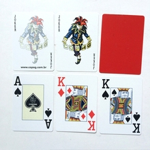 2 Sets/Lot Texas Holdem Plastic playing card game poker cards Waterproof