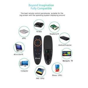 Image 3 - Controle remoto g10 com voz de 2.4g, controle remoto wireless com mouse aéreo e microfone para tv box android/x96 mini/t9/h96 max/tx6