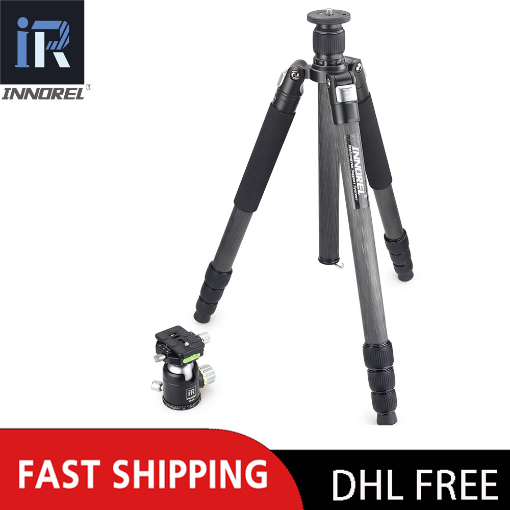 INNOREL RT85C 25KG bear carbon fiber tripod for digital DSLR camera heavy duty Monopod Professional double