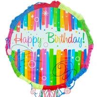 Pinata счастливый день рождения тема бумага сложенный спрос среди детей игра подарки игрушки дети подарок на день рождения украшения поставки...