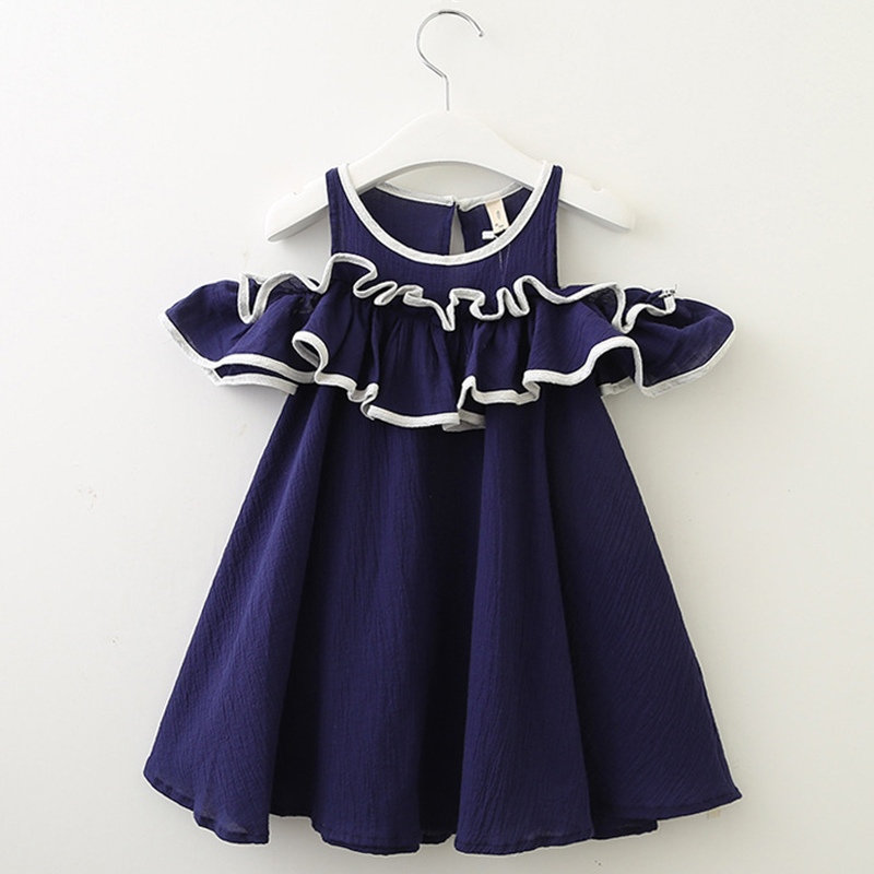 32e7323e0c9 Κορίτσια ' ρούχα Menoea Girls Dress 2019 Summer Style Kids Lace Dresses Fashion  Style Appliques Design Baby Dress Children Clothing Girls 2-7Y